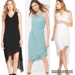 3 gorgeous asymmetrical dresses WHBM